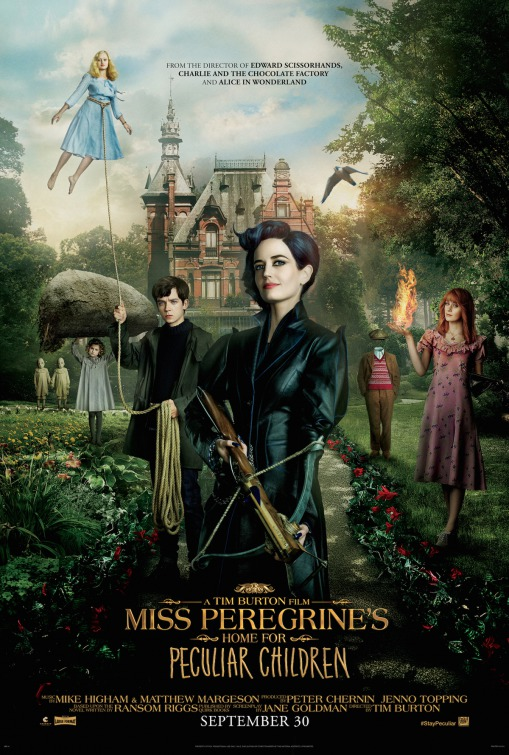 Miss Peregrine's Home For Peculiar Children full movie streaming