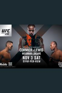 Ufc 230: Cormier Vs. Lewis full movie streaming